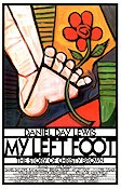 My Left Foot 1989 poster Daniel Day-Lewis Jim Sheridan