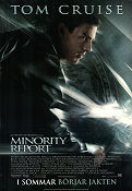 Minority Report 2002 Movie poster Tom Cruise Steven Spielberg