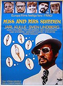 Miss and Mrs Sweden 1969 Movie poster Jarl Kulle G�ran Gentele