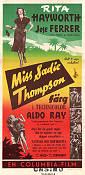 Miss Sadie Thompson 1954 poster Rita Hayworth Curtis Bernhardt