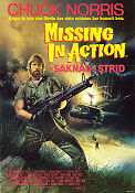 Missing in Action 1984 Movie poster Chuck Norris