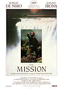 The Mission 1986 Movie poster Robert De Niro