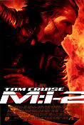Mission Impossible 2 MI2 2000 poster Tom Cruise John Woo