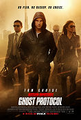 Mission Impossible Ghost Protocol 2011 poster Tom CruiseJeremy Renner Brad Bird
