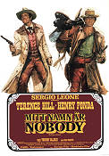 My Name is Nobody 1974 Movie poster Terence Hill Sergio Leone