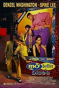 Mo Better Blues 1990 Movie poster Denzel Washington Spike Lee