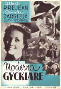 L'or dans la rue 1940 Movie poster Albert Préjean