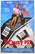 The Money Pit 1985 Movie poster Tom Hanks