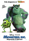 Monsters Inc 2002 poster