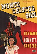Son of Monte Cristo 1941 Movie poster Joan Bennett