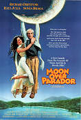 Moon Over Parador 1988 Movie poster Raul Julia Paul Mazursky