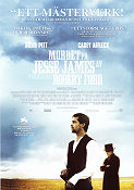 The Assassination of Jesse James 2007 poster Brad Pitt