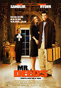 Mr Deeds 2002 poster Adam Sandler
