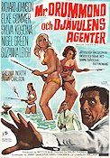 Deadlier than the Male 1967 Movie poster Richard Johnson