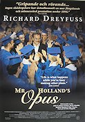 Mr Holland's Opus 1995 Movie poster Richard Dreyfuss