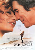 Mr Jones 1993 Movie poster Richard Gere