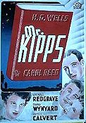 Kipps 1942 Movie poster Carol Reed