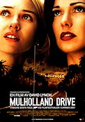 Mulholland Drive 2001 poster Naomi Watts David Lynch