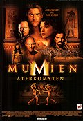 The Mummy Returns 2001 poster Brendan Fraser Stephen Sommers