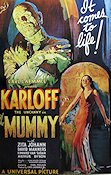 The Mummy 1932 poster Boris Karloff