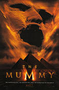 The Mummy 1999 Movie poster Brendan Fraser Stephen Sommers