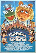 The Muppets Take Manhattan 1984 Movie poster The Muppets Jim Henson