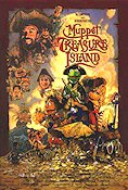 Muppet Treasure Island 1996 poster The Muppets Jim Henson