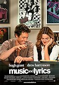 Music and Lyrics 2007 poster Hugh Grant