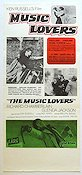 The Music Lovers 1971 Movie poster Ken Russell