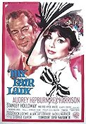 My Fair Lady 1964 Movie poster Audrey Hepburn George Cukor
