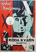 The Mystery of Mr X 1934 Movie poster Robert Montgomery