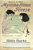 Mysterious Miss Terry 1917 Movie poster Billie Burke