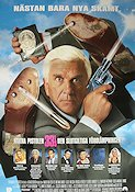 Naked Gun 33.3 1994 Movie poster Leslie Nielsen