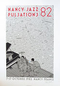 Nancy Jazz Pulsations 82 1990 poster