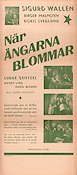 N�r �ngarna blommar 1946 Movie poster Sigurd Wall�n
