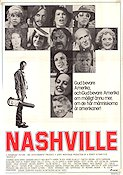 Nashville 1975 Movie poster Keith Carradine Robert Altman