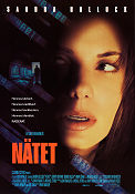 The Net 1989 poster Sandra Bullock