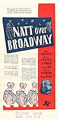 Bowery to Broadway 1944 Movie poster Maria Montez
