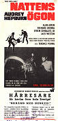 Wait Until Dark 1967 poster Audrey Hepburn Terence Young