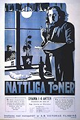 Nattliga toner 1918 Movie poster Manne Göthson Georg af Klercker