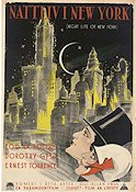 Night Life of New York 1925 poster Rod La Rocque
