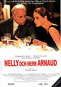 Nelly et Monsieur Arnaud 1995 Movie poster Emmanuelle Beart Claude Sautet