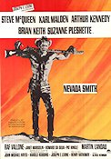 Nevada Smith 1966 Movie poster Steve McQueen