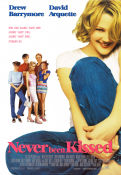 Never Been Kissed 1999 poster Drew Barrymore