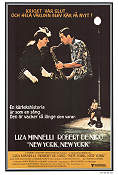 New York New York 1977 Movie poster Liza Minnelli Martin Scorsese