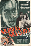 The Life and Adventures of Nicholas Nickleby 1947 poster Derek Bond Alberto Cavalcanti