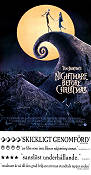 The Nightmare Before Christmas 1993 Movie poster Tim Burton