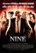Nine 2009 Movie poster Daniel Day-Lewis