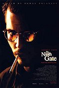 The Ninth Gate 1999 Movie poster Johnny Depp Roman Polanski