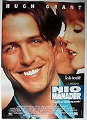 Nine Months 1996 Movie poster Hugh Grant